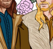 Fili and Kili - in denial about the Battle of the Five Armies Sticker