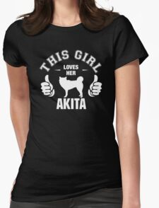 This Girl Loves Her Akita T-Shirt