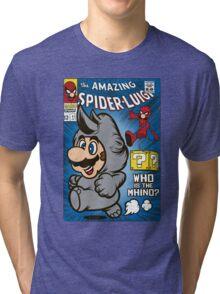 Spider-Luigi Tri-blend T-Shirt