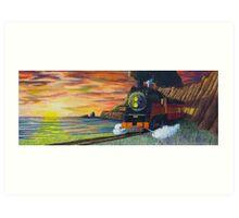 Sunset Daylight Art Print