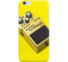Super Cheese Guitar Pedal iPhone Case/Skin