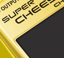 Super Cheese Guitar Pedal Sticker