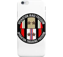 OIF and OEF deployments iPhone Case/Skin