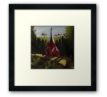 Steeple Framed Print