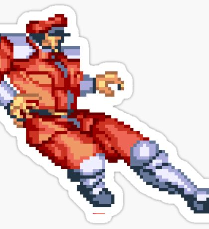 Street Fighter 2 M Bison Sticker