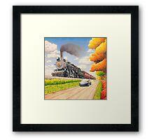 Sugar Creek Run Framed Print