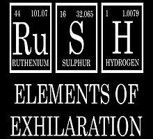 Rush Periodic Table  by raineOn