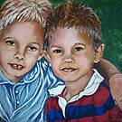 Brothers #2 by Susan Bergstrom
