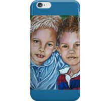 Brothers #2 iPhone Case/Skin