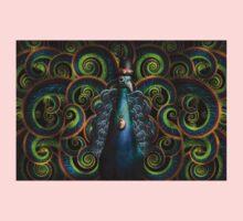 Steampunk - Pretty as a peacock Kids Tee