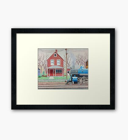 A Crisp Morning Framed Print