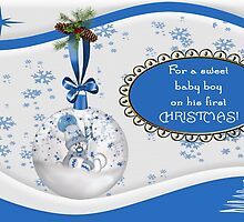 For A Sweet Baby Boy On His First Christmas by Vickie Emms