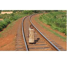 Young Girl, Uganda Photographic Print
