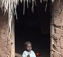 Baby at Home, Uganda by Simon Mears