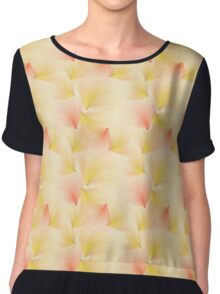 Delicate seamless flowers Chiffon Top