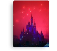 Wishes Magic Kingdom Canvas Print