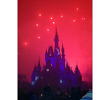 Wishes Magic Kingdom Photographic Print