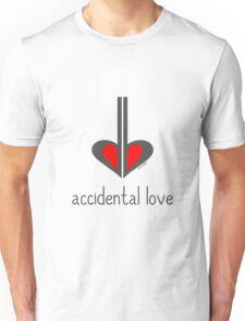 Accidental Love - Music Pun Cartoon T-Shirt