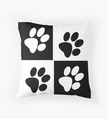 Paw Pillow Throw Pillow