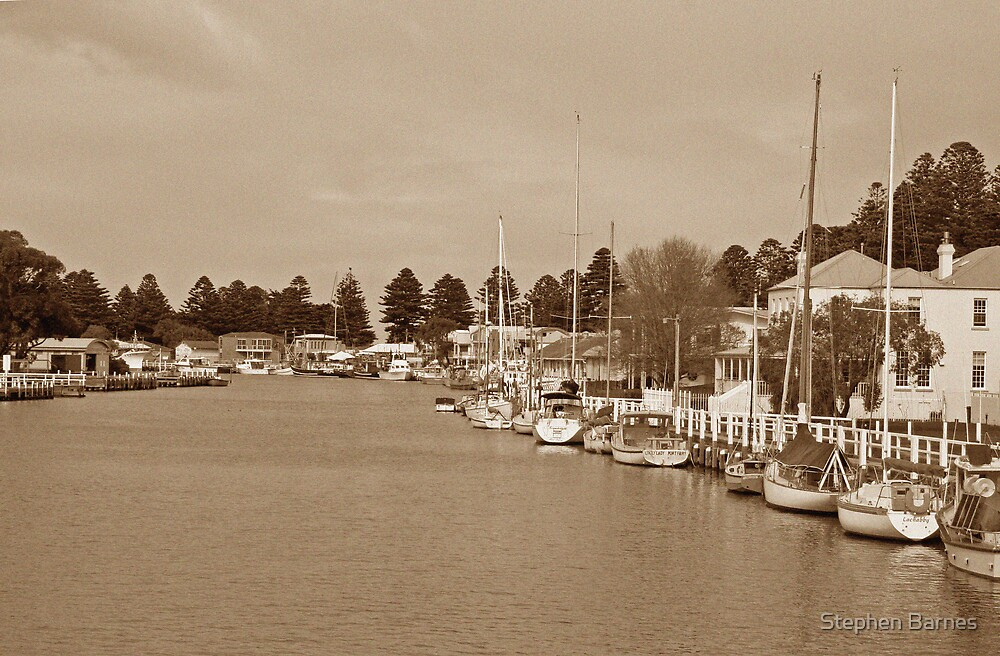 Port Fairy by Stephen Barnes