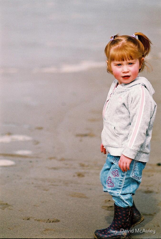 Beach Girl by David McAuley