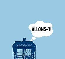 """ALLONS-Y!"" - 10th Doctor by wessaandjessa"