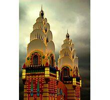Luna Park Towers Photographic Print
