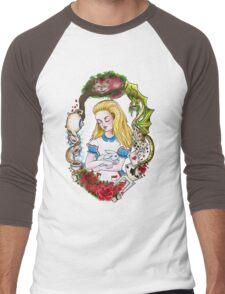 Alice Men's Baseball ¾ T-Shirt