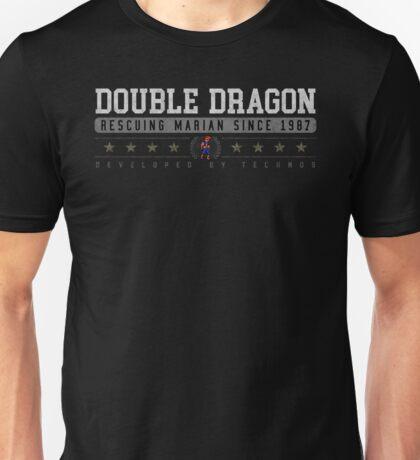 Double Dragon - Vintage - Black Unisex T-Shirt