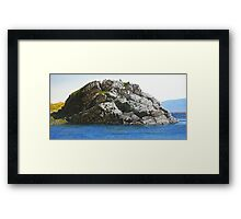 Knock Bay Framed Print