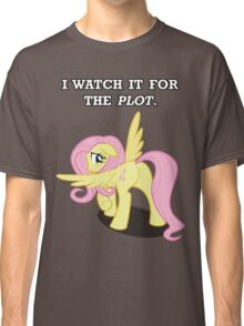 For the Plot (Fluttershy) Classic T-Shirt