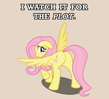 For the Plot (Fluttershy) Unisex T-Shirt