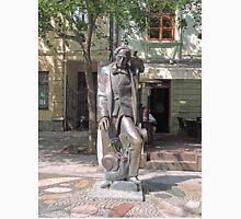 Statue, Hans Christian Andersen and Jiminy Cricket. Unisex T-Shirt