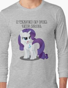 For the Plot (Rarity) Long Sleeve T-Shirt