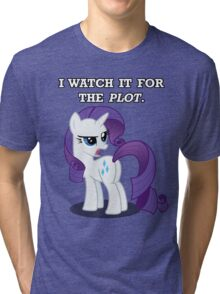For the Plot (Rarity) Tri-blend T-Shirt