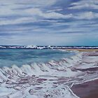 Toowoon Bay Beach NSW by Beryl Withnell