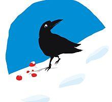 Crow Berries by Wendy Wahman