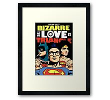 Butcher Billy's Bizarre Love Triangle: The Post-Punk Edition Framed Print