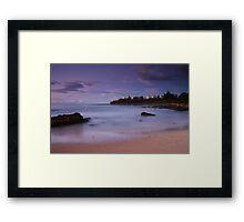 Tilbury Cove Sunset Framed Print