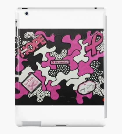 Breast Cancer Survivor iPad Case/Skin