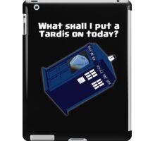 Magic Blue Box iPad Case/Skin