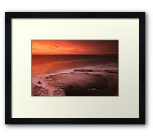 Penguin Head - Looking South Framed Print