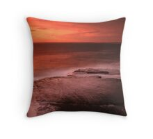 Penguin Head - Looking South Throw Pillow