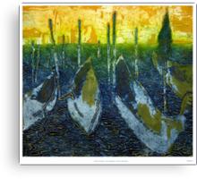 Carnivale, Courtesans and Canals Canvas Print