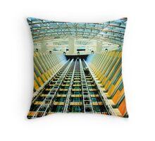 Hotel Atrium - Dubai  Throw Pillow