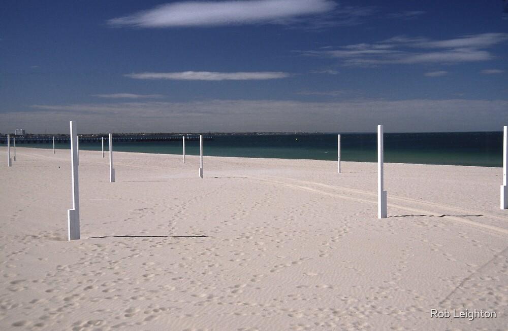 Beach Poles by Rob Leighton