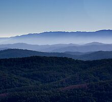 The Great Dividing Range by Roberts Birze
