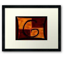 Gryffindor Banner Framed Print