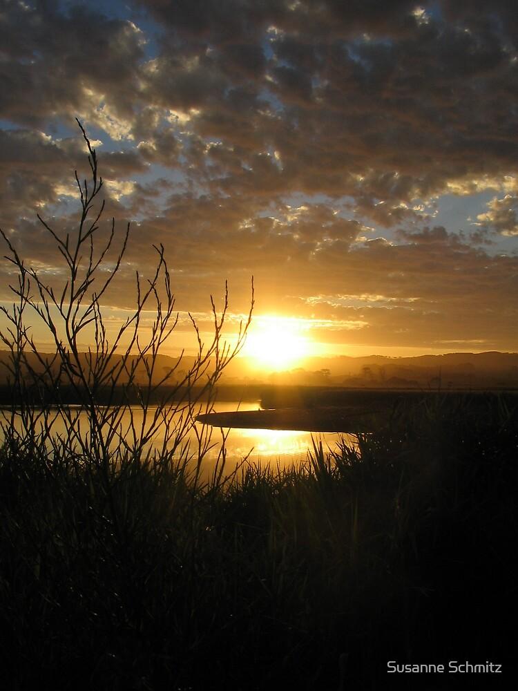 sunset - Great Ocean Road, Australia by Susanne Schmitz