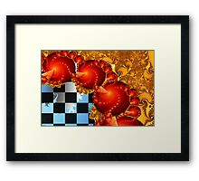 Red Cheese Balls Framed Print
